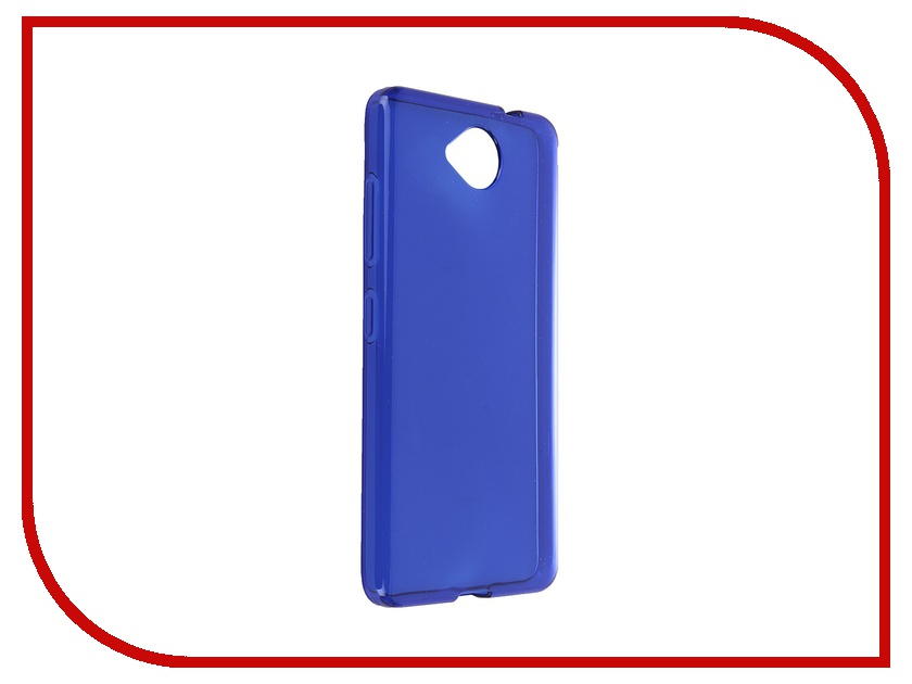 Аксессуар Чехол Microsoft Lumia 650 iBox Crystal Blue