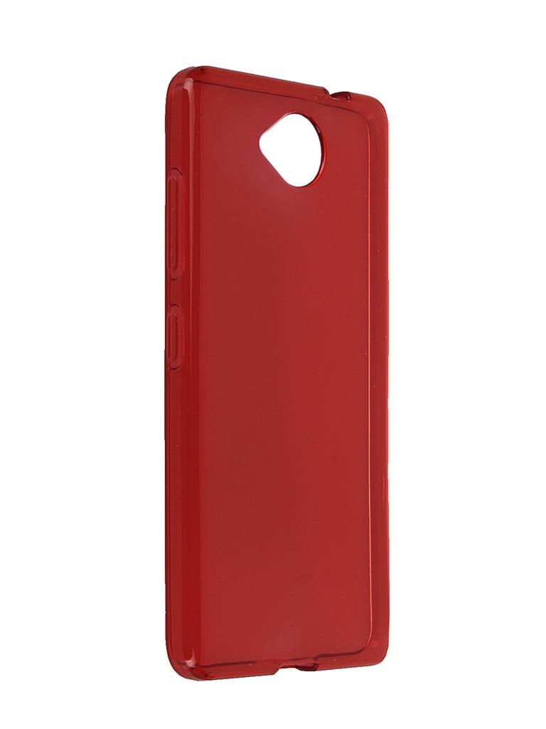 ��������� ����� Microsoft Lumia 650 iBox Crystal Red