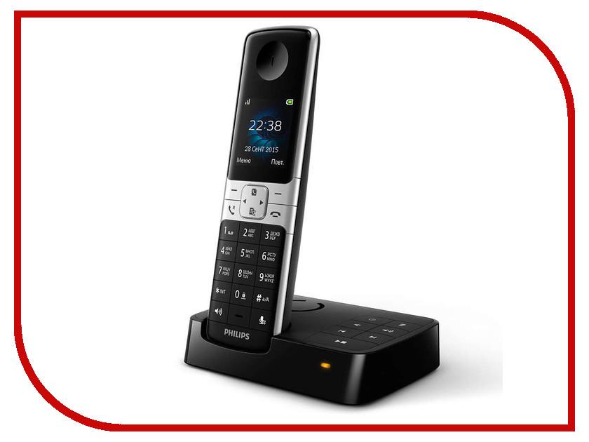 Радиотелефон Philips D 6351 Black