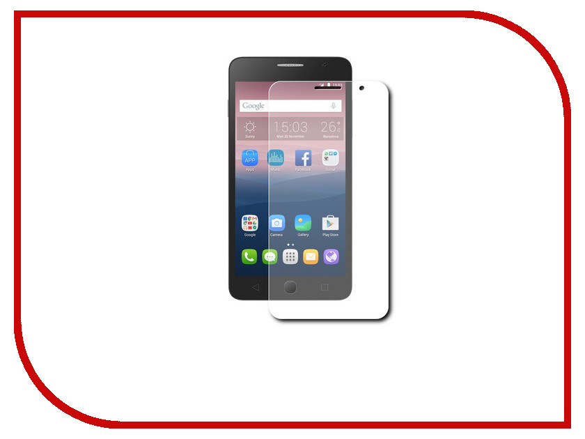 Аксессуар Защитная пленка Alcatel OneTouch POP Star 5022D LuxCase суперпрозрачная 51359<br>