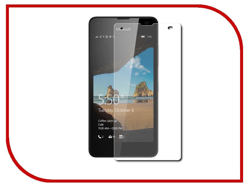 Аксессуар Защитное стекло Microsoft Lumia 550 Red Line Tempered Glass mediagadget стекло защитное tempered glass nokia lumia 635