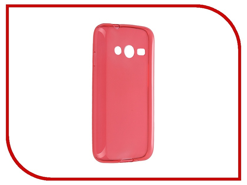 Аксессуар Чехол iBox for Samsung G313/G318 Galaxy Ace 4/Ace 4 Lite/Ace 4 Neo Crystal Red