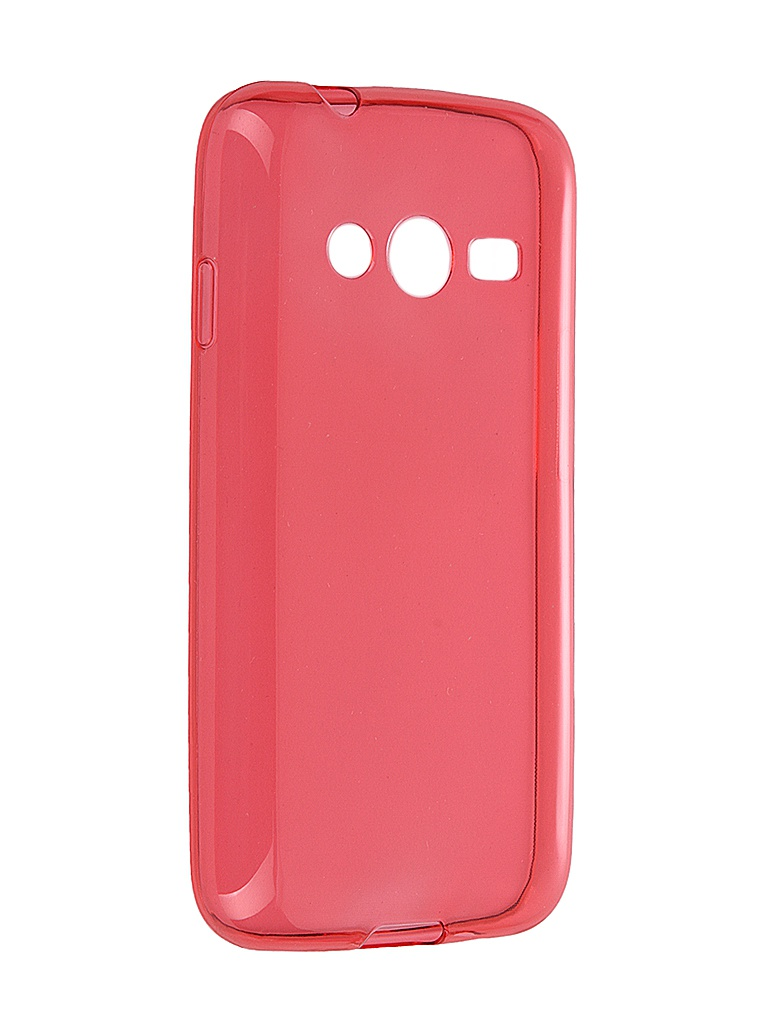Аксессуар Чехол iBox for Samsung G313/G318 Galaxy Ace 4/Ace 4 Lite/Ace 4 Neo Crystal Red<br>
