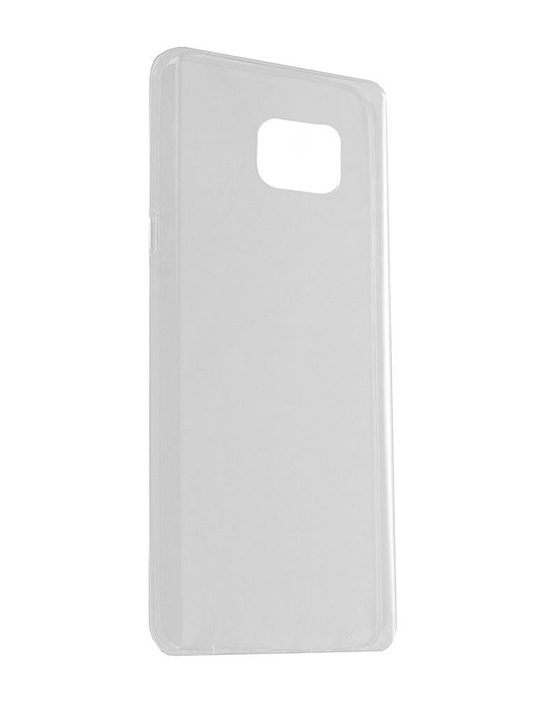 Аксессуар Чехол Samsung Galaxy Note 5 iBox Crystal Transparent<br>