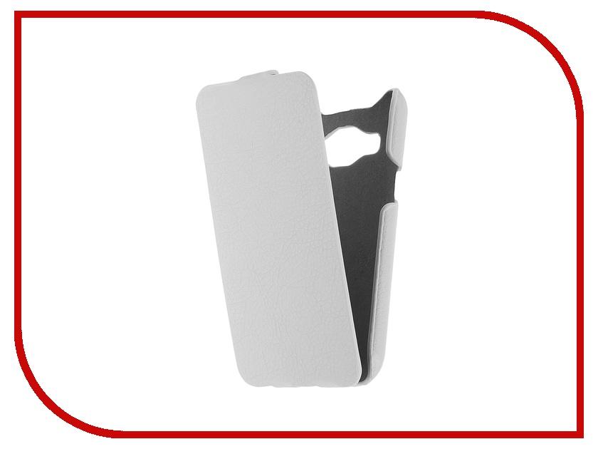 Аксессуар Чехол Samsung Galaxy J1 iBox Premium White<br>