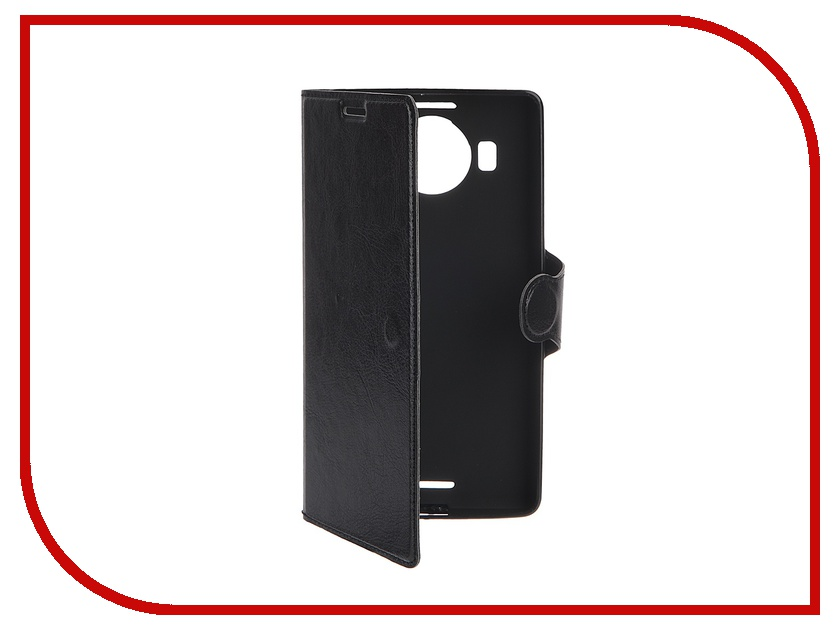 Аксессуар Чехол Microsoft Lumia 950 XL Red Line Book Type Sleek Black