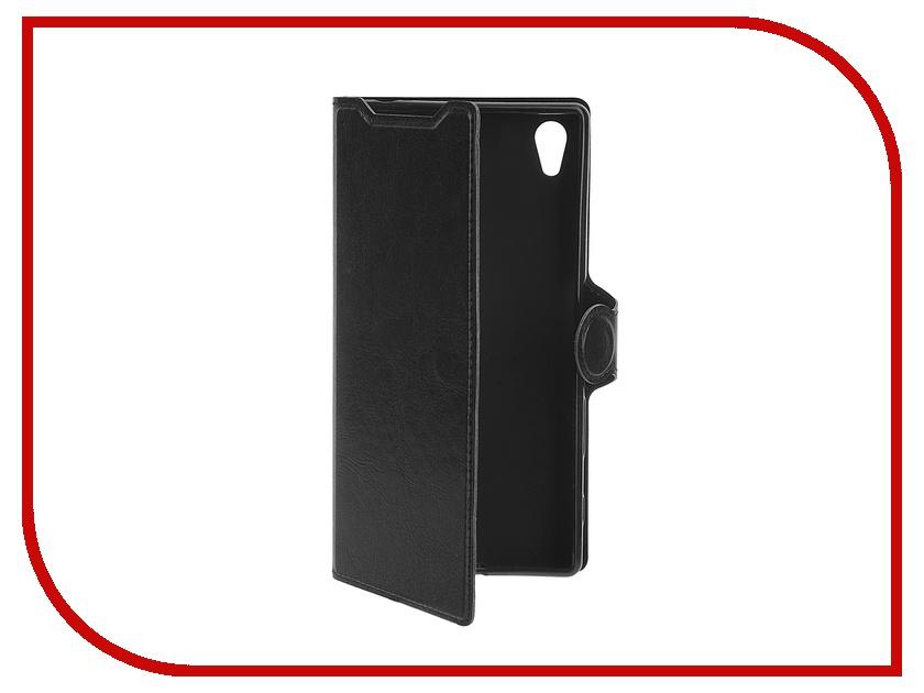 ��������� ����� Sony Xperia Z5 Red Line Book Type Sleek Black