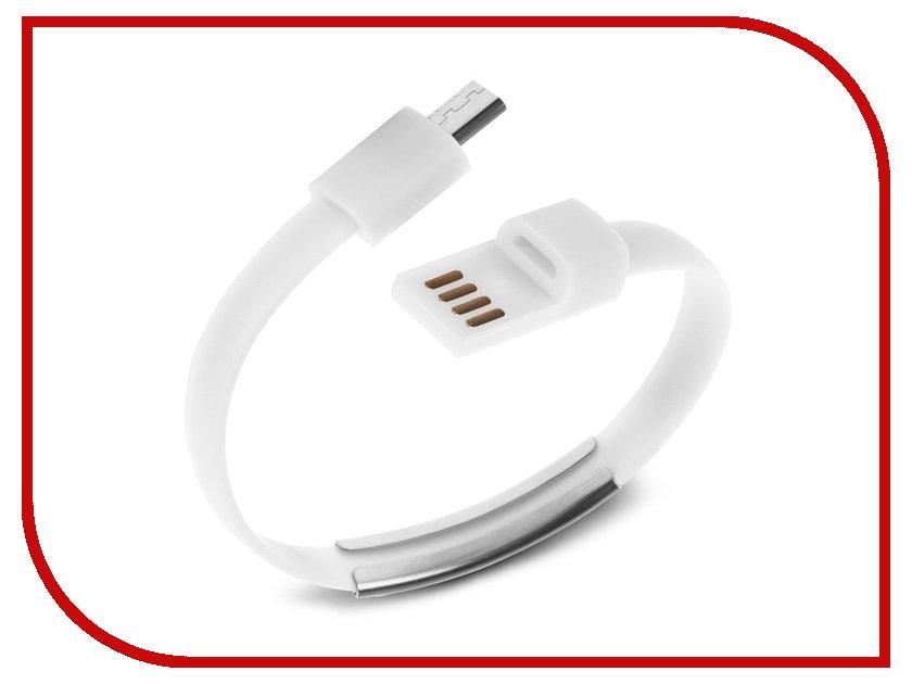 Аксессуар Activ USB - micro USB Cabelet Mono White 46892 смеситель для мойки blanco actis coffee