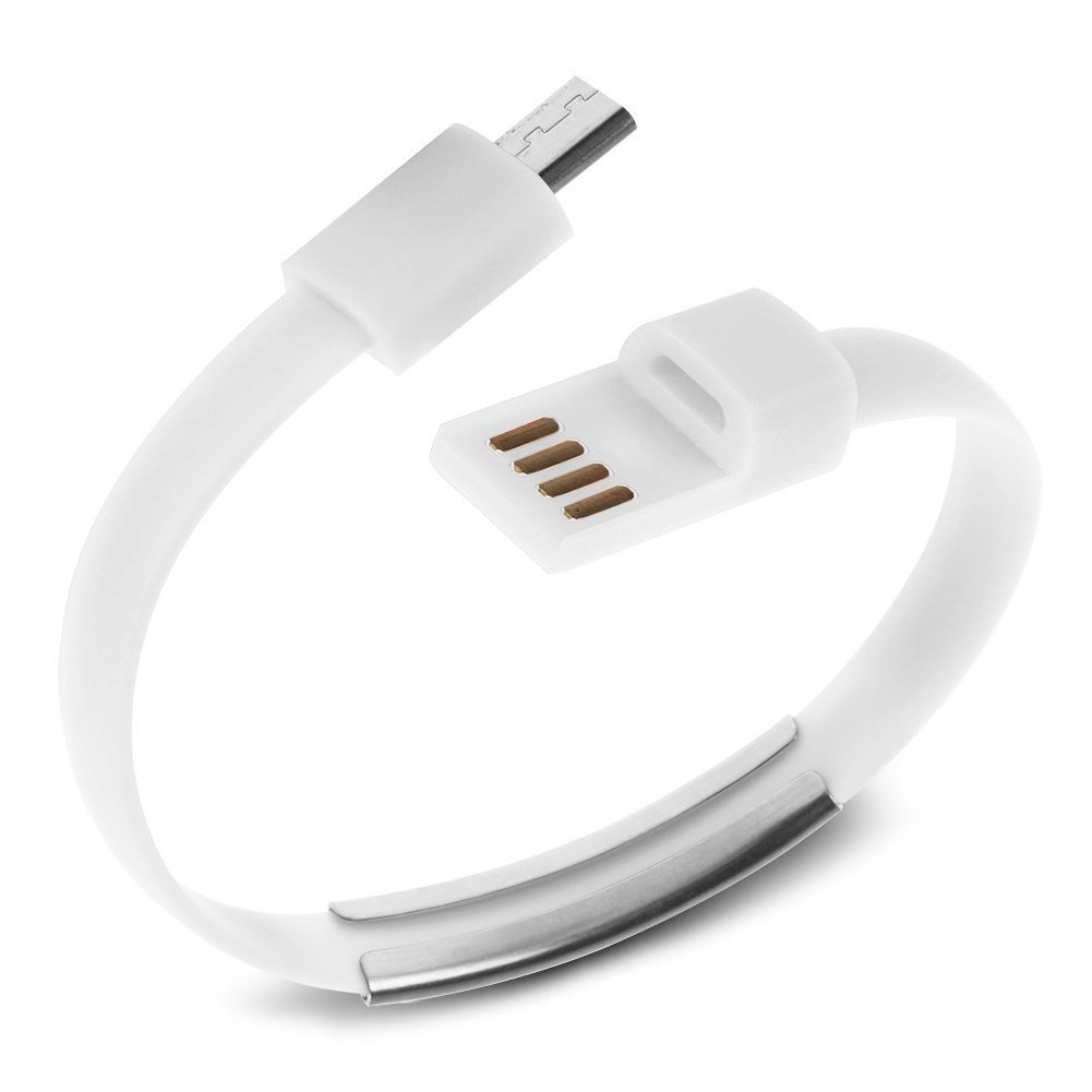 Аксессуар Activ USB - micro USB Cabelet Mono White 46892<br>