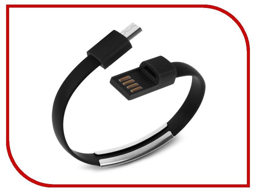 Аксессуар Activ USB - micro USB Cabelet Mono Black 46894