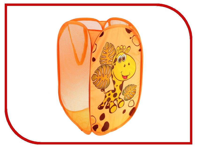 Корзина для игрушек СИМА-ЛЕНД Весёлый жирафик 651785<br>