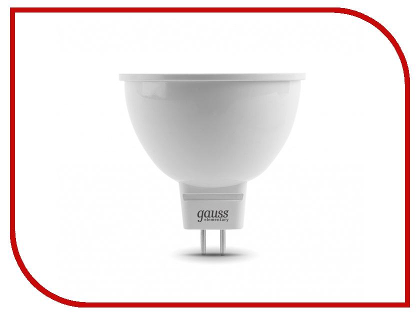 Лампочка Gauss Elementary Lens MR16 5.5W GU5.3 4100K 16526<br>