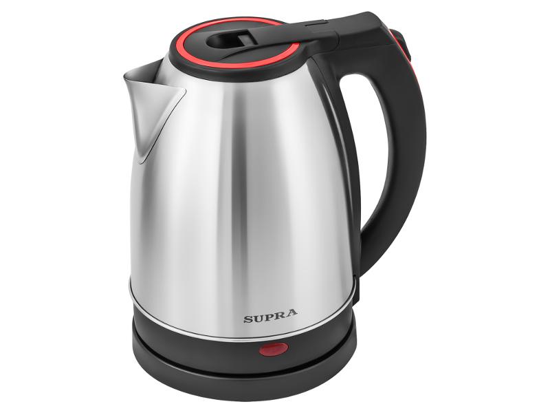 Чайник SUPRA KES-2231 Steel-Red