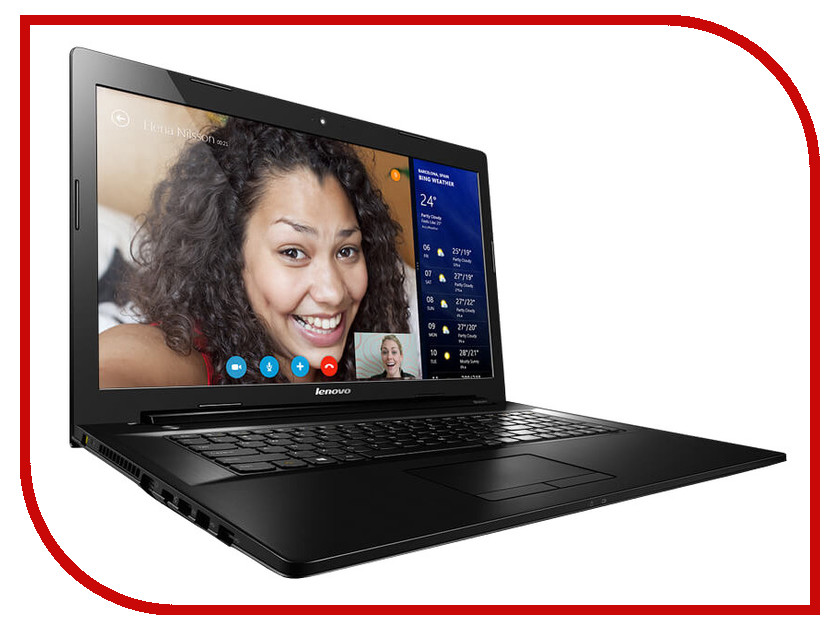 Ноутбук Lenovo IdeaPad G7070 80HW006VRK Intel Celeron 2957U 1.4 GHz/4096Mb/500Gb/DVD-RW/Intel HD Graphics/Wi-Fi/Bluetooth/Cam/17.3/1600x900/Windows 8.1 64-bit