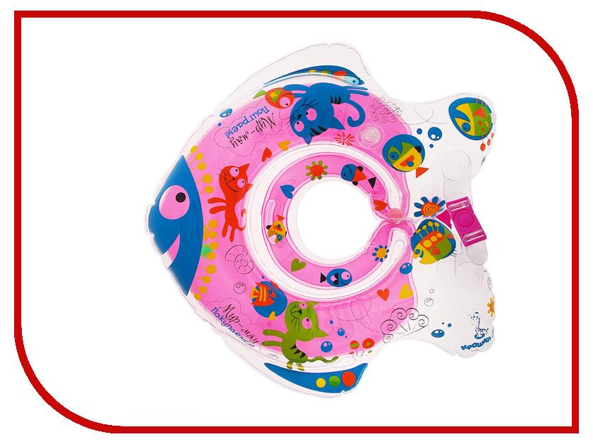 Круг для купания Крошка Я Мур-мяу 1005259
