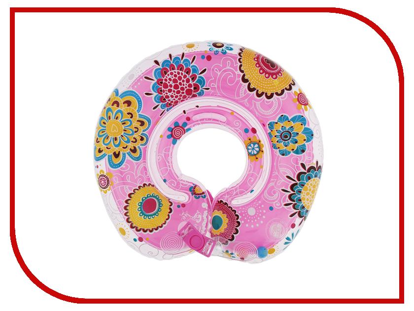 Надувной круг Крошка Я Цветочный принт 1013032