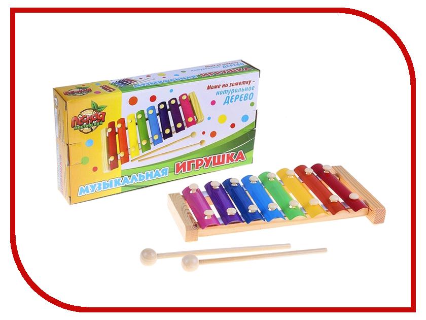 Детский музыкальный инструмент Лесная мастерская металлофон 454310