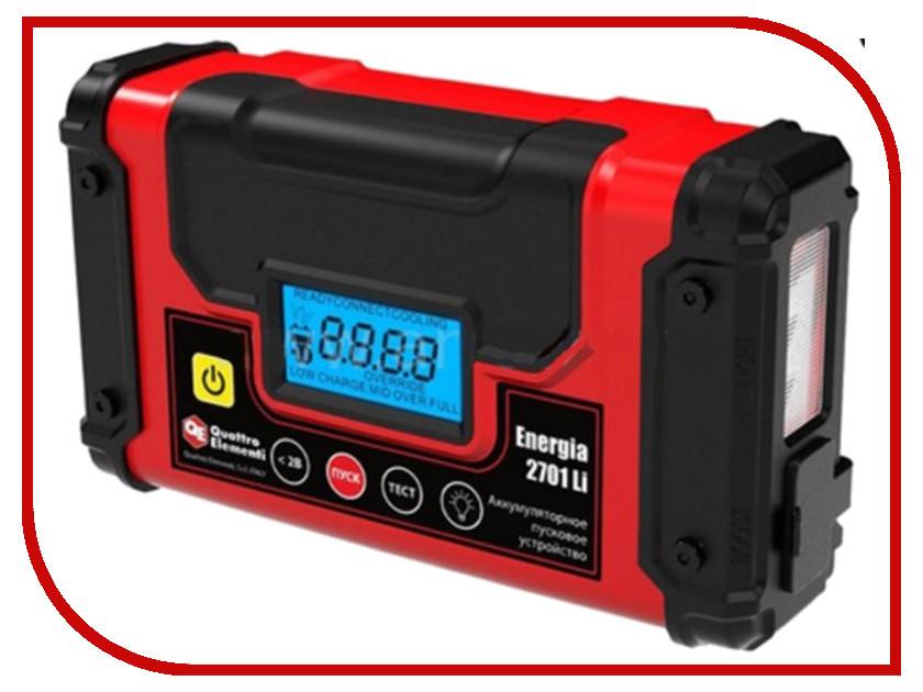 Зарядное устройство для автомобильных аккумуляторов Quattro Elementi Energia 2701 Li<br>
