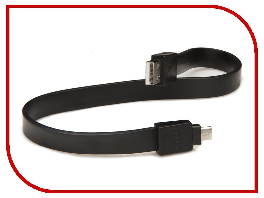 Аксессуар TYLT Syncable Micro-USB 30cm Black MIC-DATA12BK-T