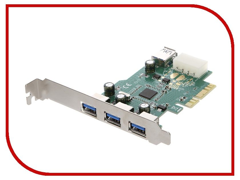 Контроллер Espada PCI-E to USB3.0 FG-EU309A-1-BU01 / EU309A-1 irfp350 to 3p
