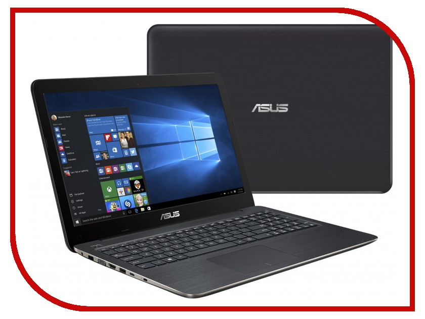 Ноутбук ASUS X556UB-XO036T 90NB09R1-M00470 (Intel Core i7-6500U 2.5 GHz/8192Mb/1000Gb/DVD-RW/nVidia GeForce 940M 2048Mb/Wi-Fi/Bluetooth/Cam/15.6/1366x768/Windows 10 64-bit) 338367<br>