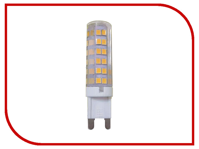 Лампочка Ecola Ecola G9 LED 7W Corn Micro 220V 4200K G9RV70ELC лампочка ecola globe led e14 7w g45 220v 4000k k4lv70elc