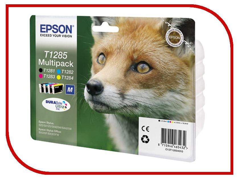 Картридж Epson T1285 C13T12854010/C13T12854012 принтер epson m105