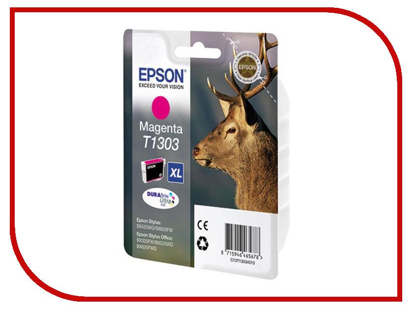 Картридж Epson T1303 Purple C13T13034010<br>