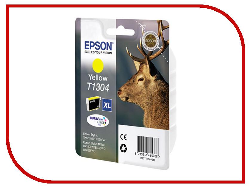 Картридж Epson T1304 Yellow C13T13044010<br>