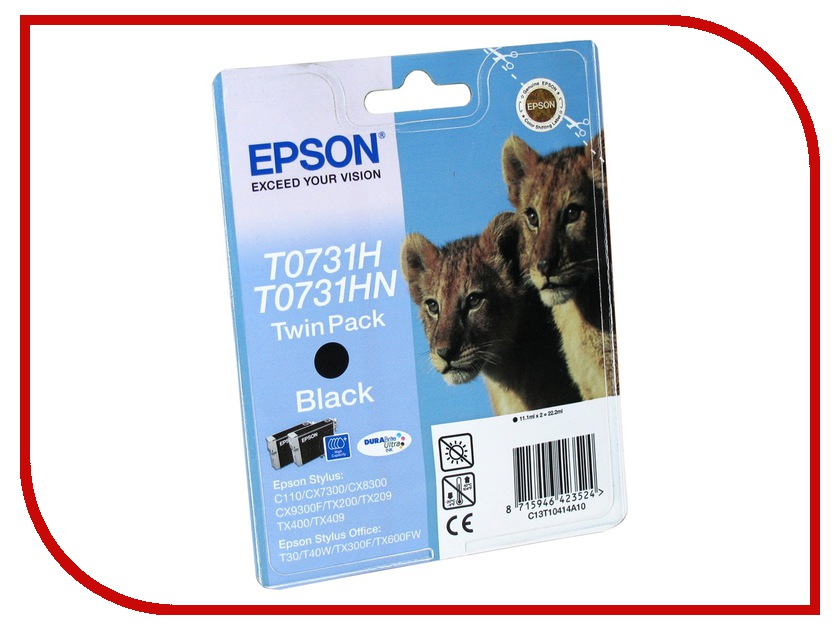 Картридж Epson T1041 C13T10414A10<br>