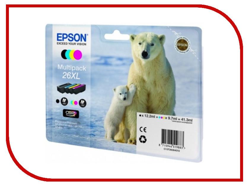 Картридж Epson T2636 C13T26364010 принтер epson m105
