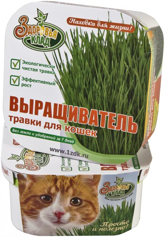 Аэросад Здоровья клад для зеленой травки для кошек