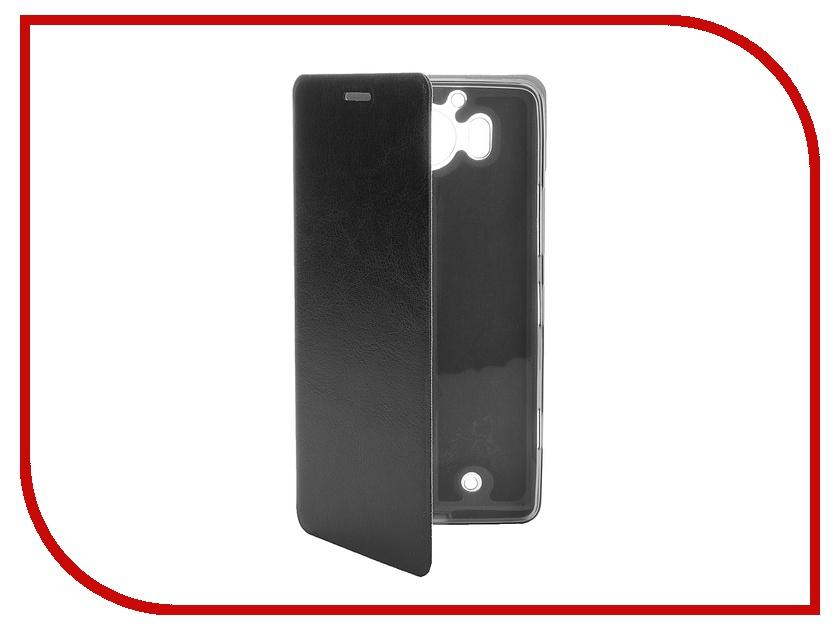 Аксессуар Чехол Microsoft Lumia 950 SkinBox Lux Black T-S-M950-003