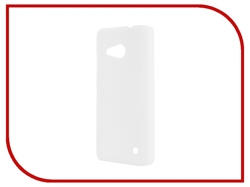 Аксессуар Чехол-накладка Microsoft Lumia 550 SkinBox 4People White T-S-M550-002 + защитная пленка<br>