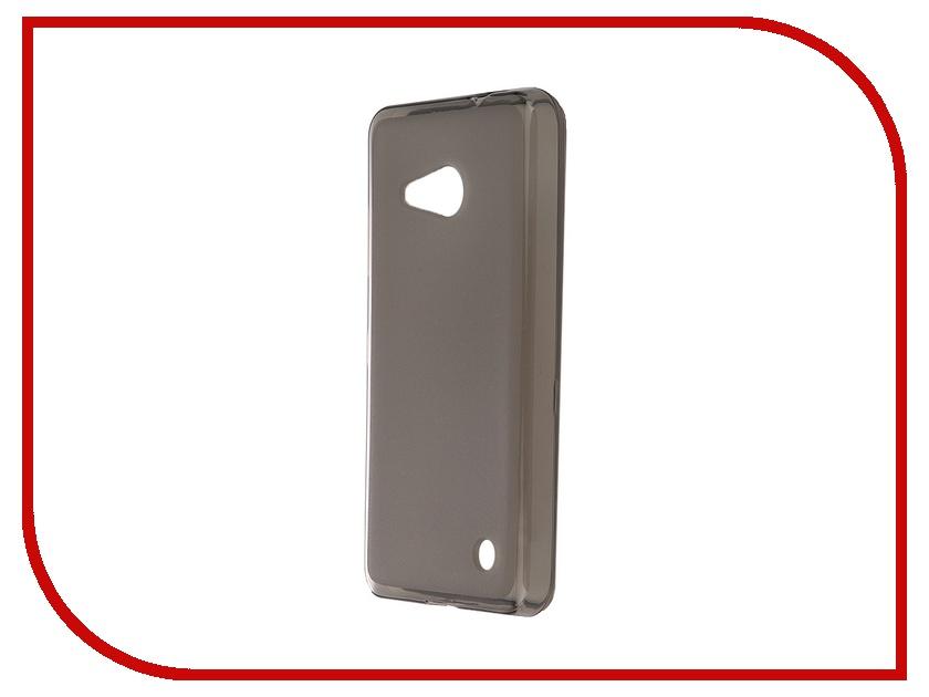 Аксессуар Чехол-накладка Microsoft Lumia 550 SkinBox Sheild Silicone Brown T-S-M550-005