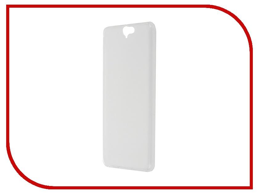 Аксессуар Чехол-накладка HTC One A9 SkinBox Sheild Silicone Transparent T-S-HOA9-005<br>