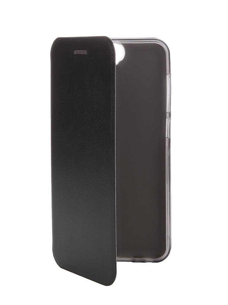 Аксессуар Чехол HTC One A9 SkinBox Lux Black T-S-HOA9-003<br>