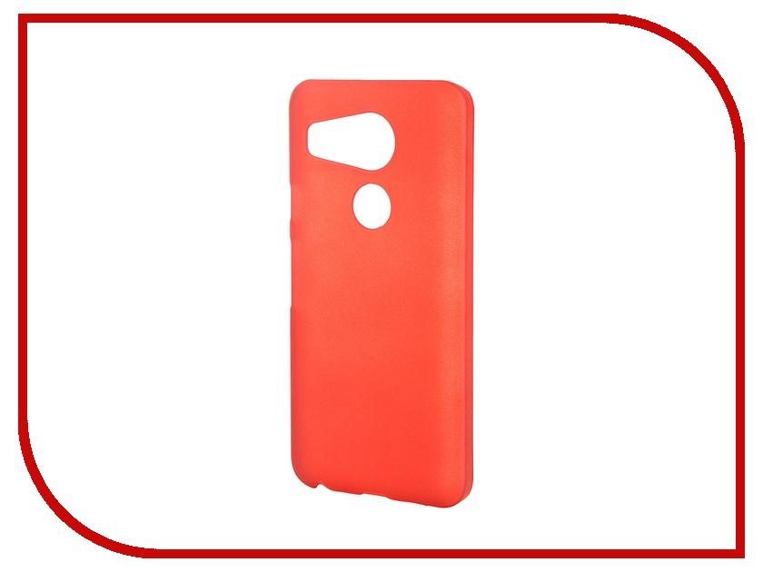 Аксессуар Чехол-накладка LG Nexus 5X SkinBox 4People Red T-S-LN5X-002 + защитная пленка