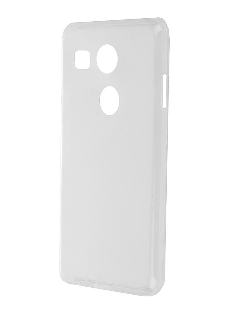 Аксессуар Чехол-накладка LG Nexus 5X SkinBox Sheild Silicone Transparent T-S-LN5X-005<br>
