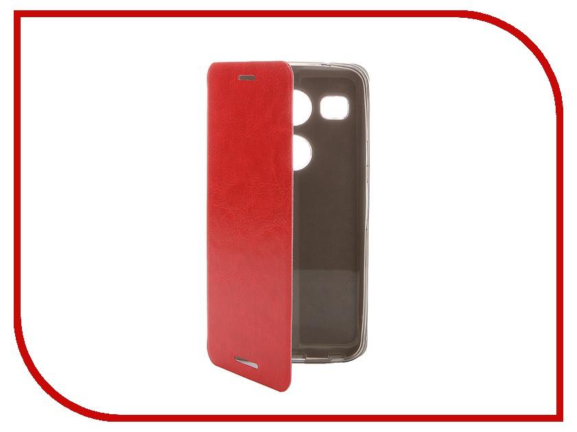 Аксессуар Чехол LG Nexus 5X SkinBox Lux Red T-S-LN5X-004<br>