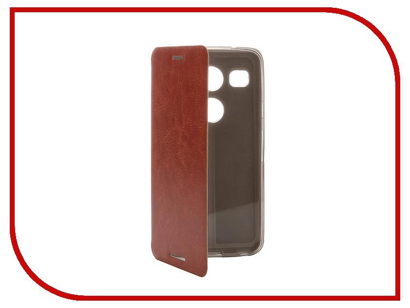��������� ����� LG Nexus 5X SkinBox Lux Brown T-S-LN5X-004