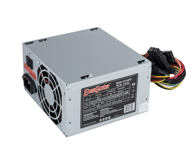 Блок питания ExeGate ATX-AB500 500W 251772