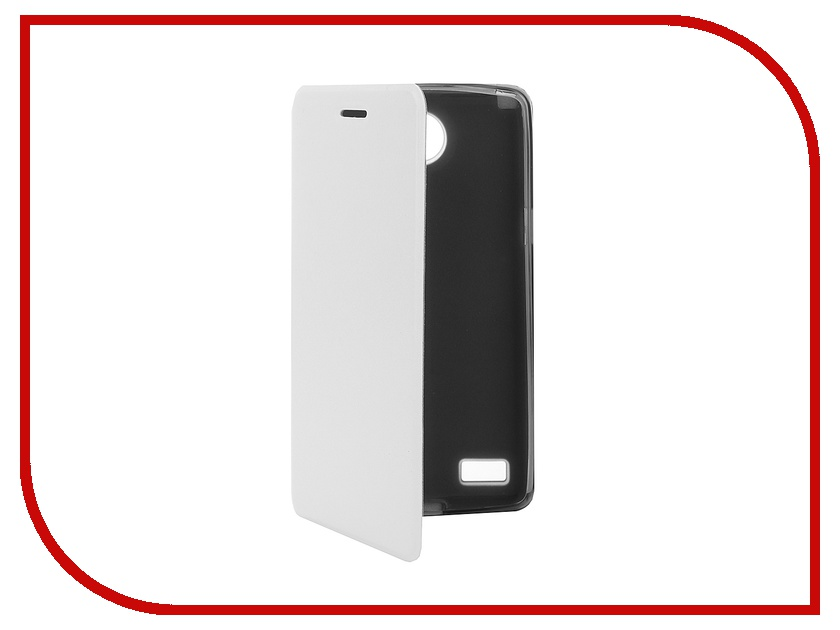 Аксессуар Чехол LG Max L Bello 2 SkinBox Lux White T-S-LB2-003<br>