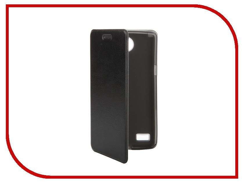 Аксессуар Чехол LG Max L Bello 2 SkinBox Lux Black T-S-LB2-003<br>
