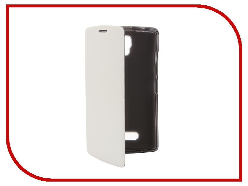 ��������� ����� Lenovo A2010 SkinBox Lux White T-S-LA2010-001