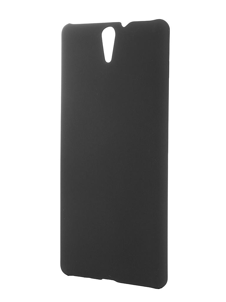 ��������� �����-�������� Sony Xperia C5 Ultra SkinBox 4People Black T-S-SXC5U-002 + �������� ������