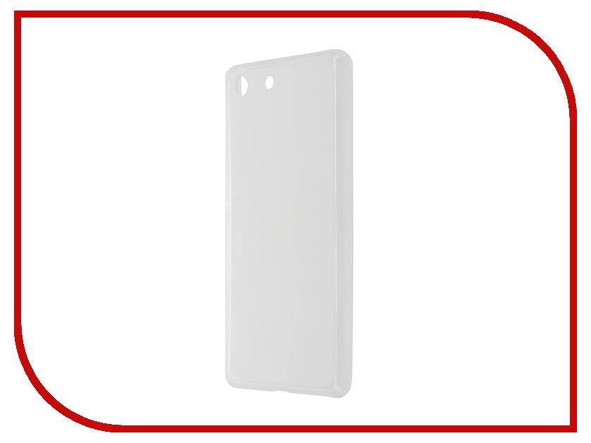 Аксессуар Чехол-накладка Sony Xperia M5 SkinBox Sheild Silicone Transparent T-S-SXM5-005
