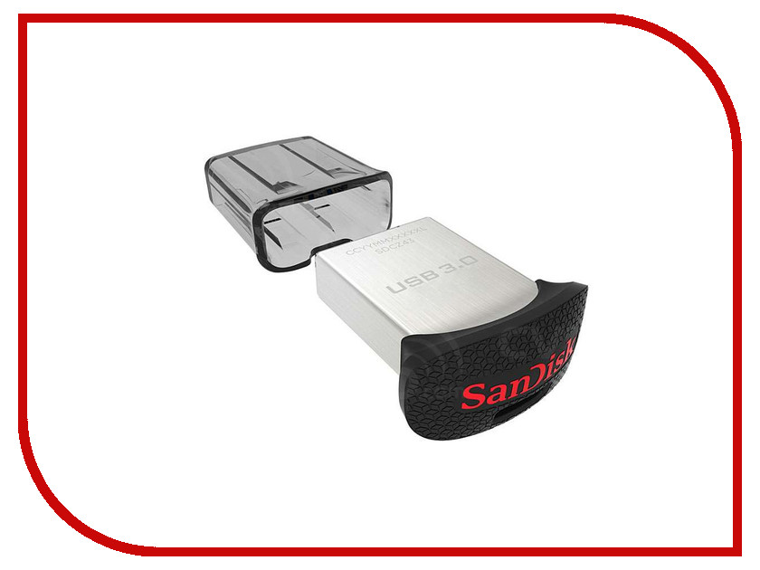 USB Flash Drive 128Gb - SanDisk Ultra Fit SDCZ43-128G-G46 / SDCZ43-128G-GAM46<br>