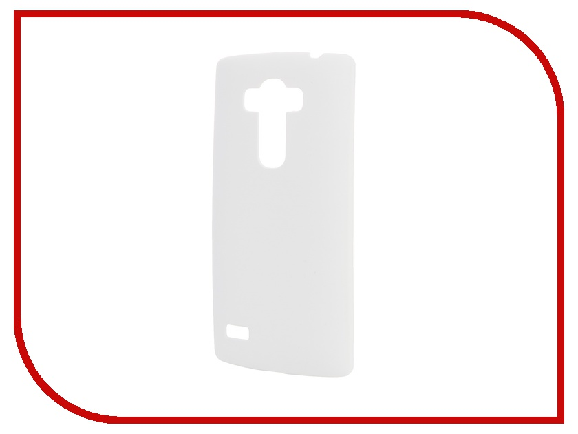 Аксессуар Чехол-накладка LG G4S SkinBox 4People White T-S-LG4S-002 + защитная пленка