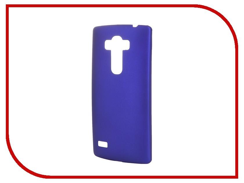Аксессуар Чехол-накладка LG G4S SkinBox 4People Blue T-S-LG4S-002 + защитная пленка